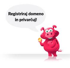 Registrar domen Prasicek.si